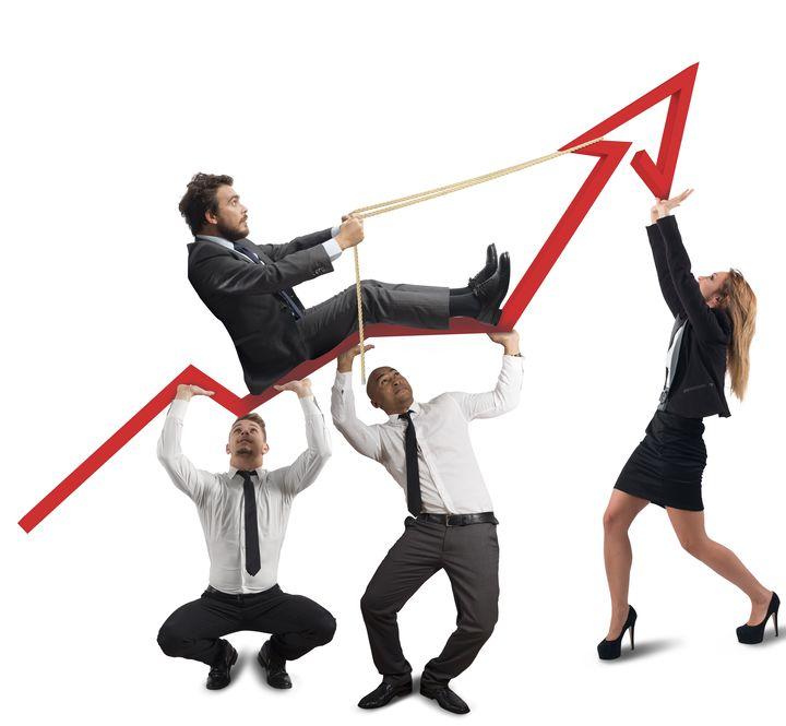 neue Mitarbeiter, Wachstum, Teamwork, Erfolg