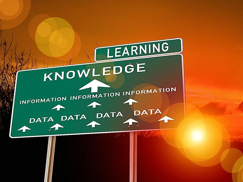 Informationsweitergabe als Fokus der Präsentation