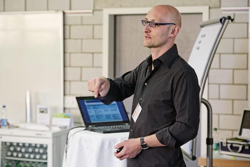 Andreas Straub beim Neuland Moderations-Markt 2015