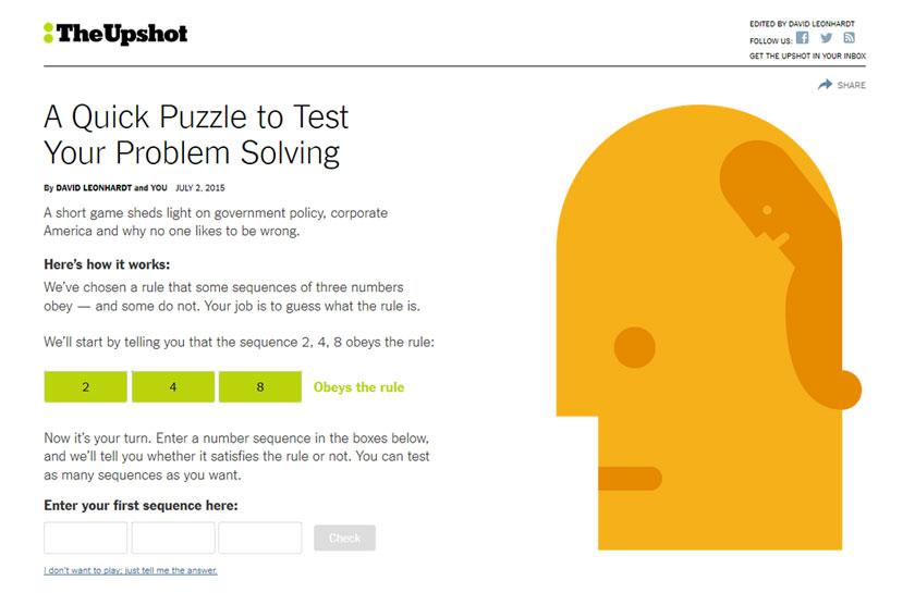 Schneller Test: Wie gut sind Sie im Lösen von Problemen?