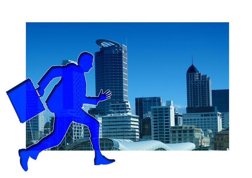 Hören Sie auf zu rennen!